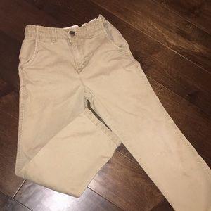 Boys khaki pants